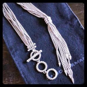 David Yurman Willow Y Necklace